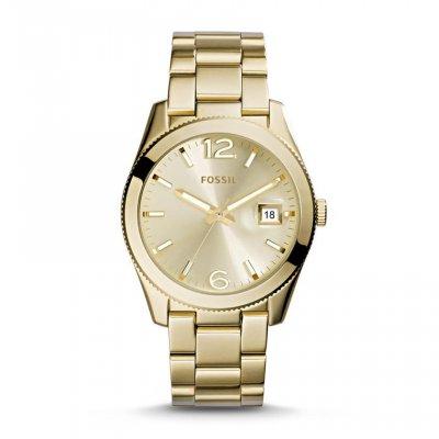 principal Reloj Fossil ES3586 Hombre Dorado Armis Cuarzo