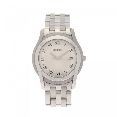 principal Reloj Gucci 5500 YA055212 Hombre Acero Plateado