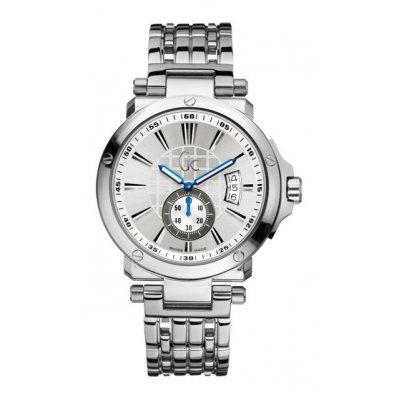 principal Reloj Guess Collection X65001G1S Hombre Plateado Armis Cuarzo