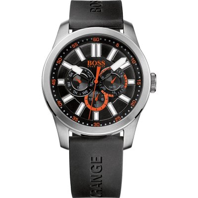principal Reloj HUGO BOSS Orange 1512933 Hombre Silicona Plateado