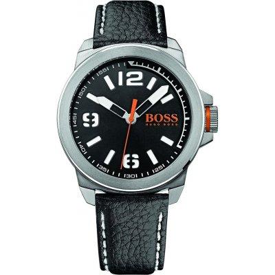 principal Reloj HUGO BOSS Orange 1513151 Hombre Piel Plateado