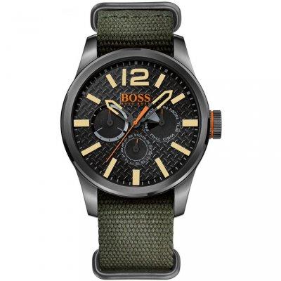 principal Reloj HUGO BOSS Orange 1513312 Hombre Nailon Negro