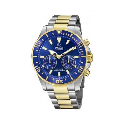 principal Reloj Jaguar Hybrid J889/1 Hombre acero bicolor