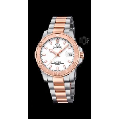 principal Reloj Jaguar J871/1 mujer acero IP rosa