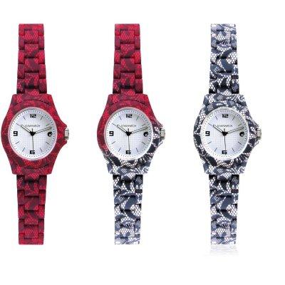 principal Reloj Kamawacht KWP02 Mujer Tecnología Térmica Rojo-Decorado