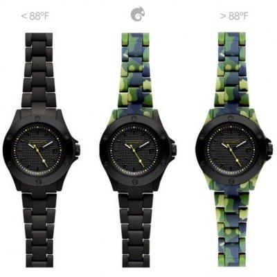 principal Reloj Kamawacht KWP06 Hombre Tecnología Térmica Dark-Green Camouflage