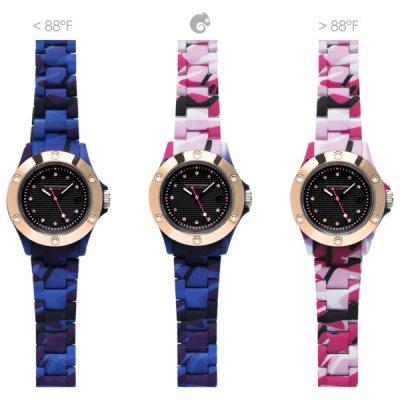 principal Reloj Kamawacht KWP07 Mujer Tecnología Térmica Azul-Rosa