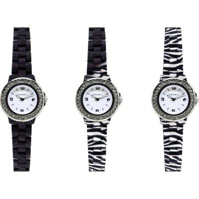 principal Reloj Kamawacht KWPC01 Mujer Tecnología Térmica Negro-Cebra