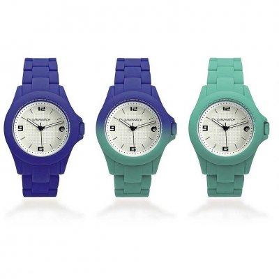 principal Reloj Kamawacht KWS02 Mujer Tecnología Térmica Morado-Verde
