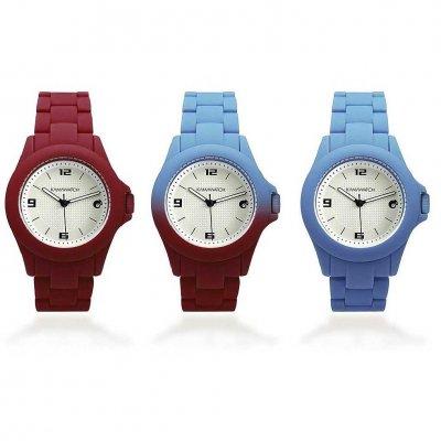 principal Reloj Kamawacht KWS04 Mujer Tecnología Térmica Rojo-Azul