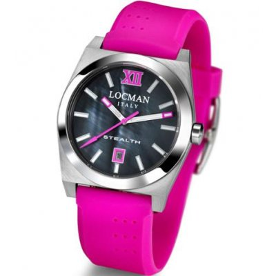 principal Reloj Locman 203-1 Mujer Rosa Caucho Cuarzo