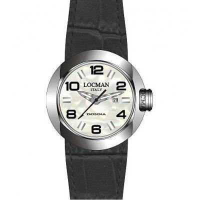 principal Reloj Locman 421-1 Mujer Nácar Cocodrilo Cuarzo