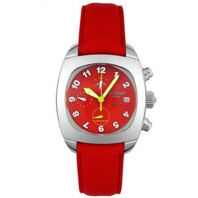 principal Reloj Locman 555 Mujer Rojo Cuarzo Analógico