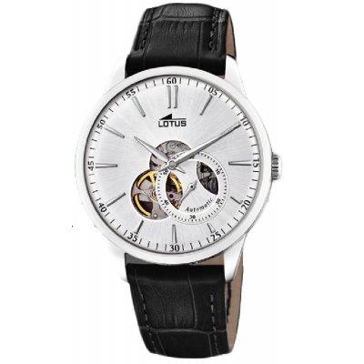 principal Reloj Lotus Automático 18536/1 acero hombre piel