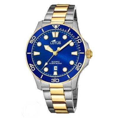 principal Reloj Lotus Excellent 18763/1 acero mujer bicolor