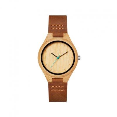 principal Reloj MAM mujer HISTO 602 Madera Bambú Sostenible
