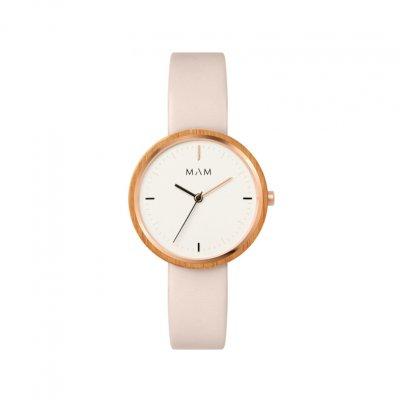 principal Reloj MAM mujer PLANO 652 Madera Bambú Sostenible
