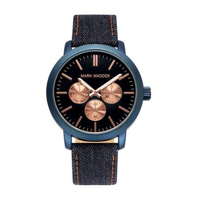 da66f9f8a1d8 Reloj MARK MADDOX HC3025-37 Hombre Textil Negro Cuarzo Multifunción - Joyería  Francisco Ortuño