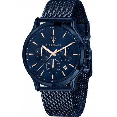 principal Reloj Maserati Epoca blue edition R8873618010 hombre acero