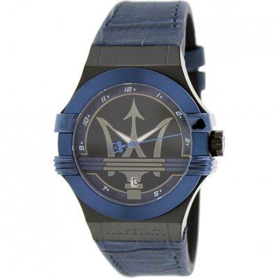 164ed673037f Reloj Maserati Potenza R8851108007 Hombre Piel Azul - Joyería Francisco  Ortuño