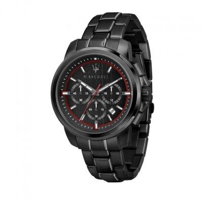 principal Reloj Maserati R8873621014 Hombre Negro Acero