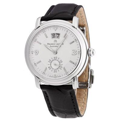 principal Reloj Maurice Lacroix MP6378-SS001-920 Hombre Blanco Automático Analógico