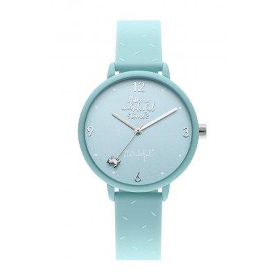 principal Reloj Mr. Wonderful HAPPY HOUR WR30200 niña verde