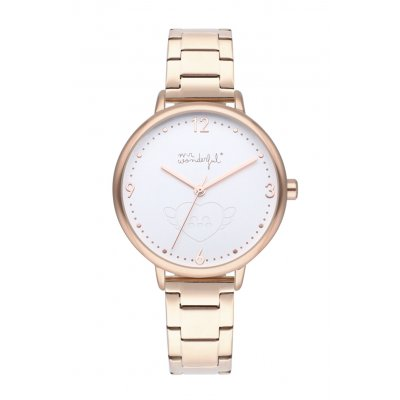 principal Reloj Mr. Wonderful SHINE AND SMILE WR10000 mujer oro rosa