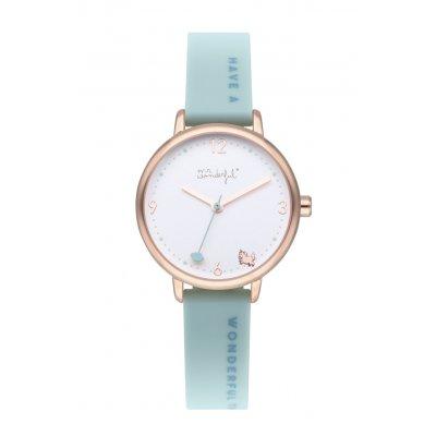 principal Reloj Mr. Wonderful TIME FOR FUN WR45200 niña verde