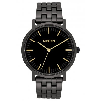 820668cab545 Reloj Nixon A10571031 Porter All Black   Gold - Joyería Francisco Ortuño