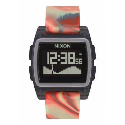 principal Reloj NIXON A11043178 Hombre Negro Silicona