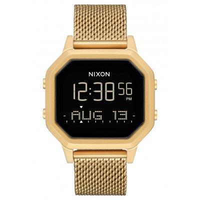 principal Reloj NIXON Siren Milanese A1272502 Hombre Dorado Acero Inox.