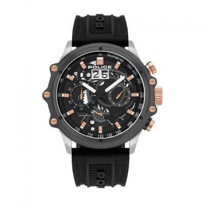 principal Reloj POLICE LUANG CHRONO PL.16018JSTU-13P hombre negro