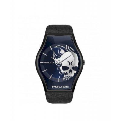 principal Reloj POLICE SPHERE DIAL BLUE PEWJA2002302 hombre