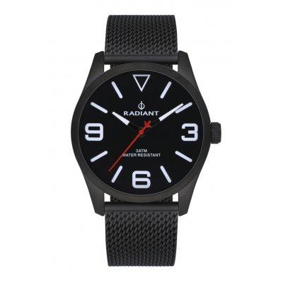 principal Reloj Radiant DARTH RA533204 hombre acero malla negro