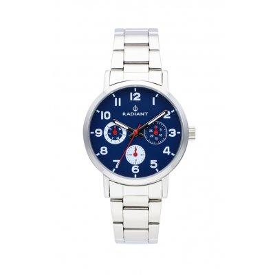 principal Reloj Radiant RA448707 Niño Plateado/Gris Acero
