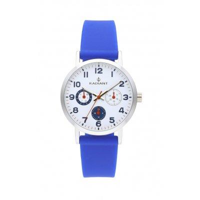 principal Reloj Radiant RA448708 Niño Plateado/Gris Silicona