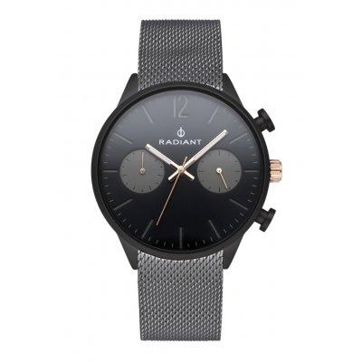principal Reloj Radiant LUKE RA532701 Hombre acero malla negro