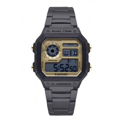 principal Reloj Radiant RA505204 Hombre Negro Acero