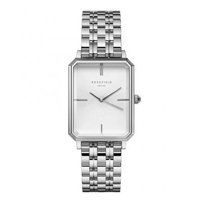 principal Reloj Rosefield The Octagon Steel Silver OCWSS-O41 mujer