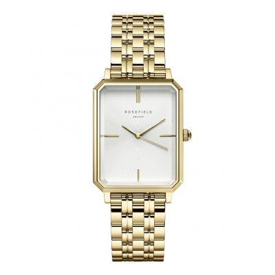 principal Reloj Rosefield The Octagon White Gold OCWSG-O40 mujer