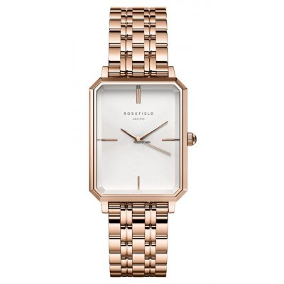 principal Reloj Rosefield The Octagon Rose Gold OCWSG-O42 mujer