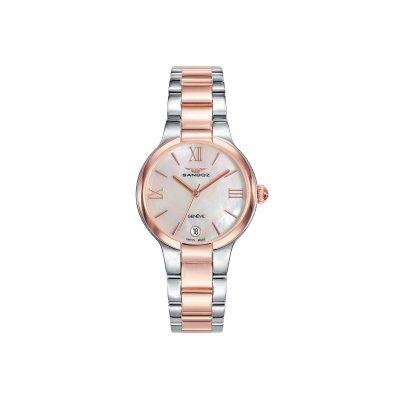 principal Reloj Sandoz ELLE 81334-93 mujer acero IP rosa