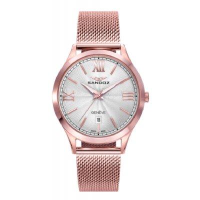 principal Reloj Sandoz ELLE 81366-03 mujer acero IP rosa