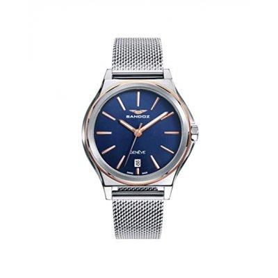 principal Reloj Sandoz Heritage 81358-37 mujer azul