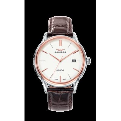 principal Reloj Sandoz Heritage 81471-07 hombre blanco