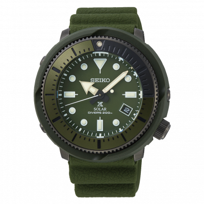 principal Reloj Seiko Prospex Street SNE535P1 hombre verde
