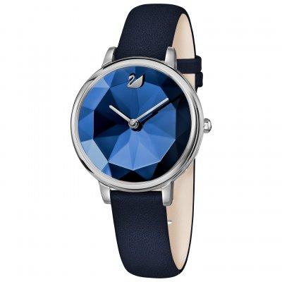 principal Reloj Swarovski 5416006 Crystal Lake mujer azul piel