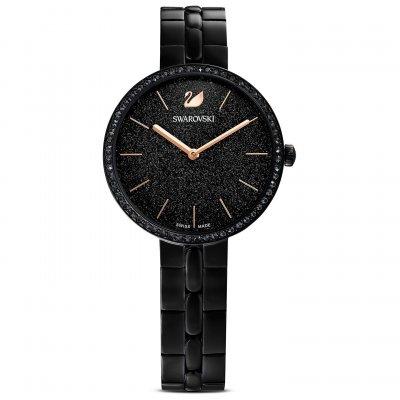 principal Reloj Swarovski Cosmopolitan 5547646 brazalete negro PVD negro