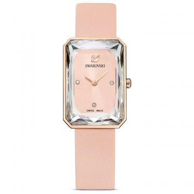 principal Reloj Swarovski Uptown 5547719 rosa PVD tono oro rosa